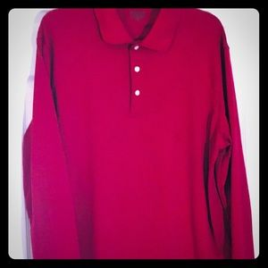 PING long sleeve golf shirt large